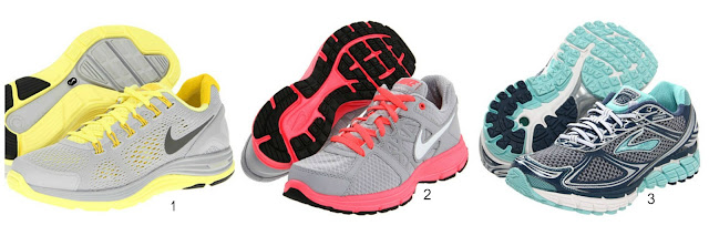 reputable site 4df5d 9755c 1) Nike Lunarglide +4 2) Nike Relentless 2 3) Brooks Ghost 5