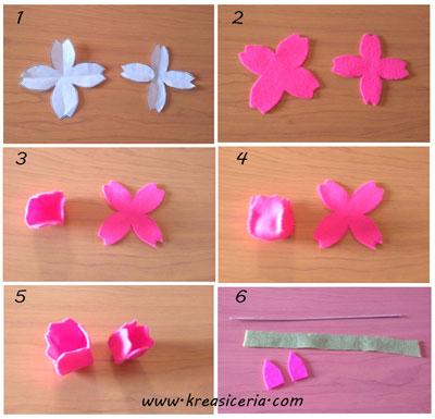 Tutorial Cara Membuat Bunga Tulip Dari Kain Flanel