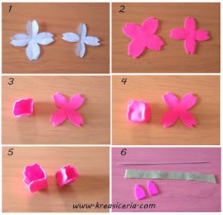 Tutorial bunga tulip dari bahan kain flanel part 1
