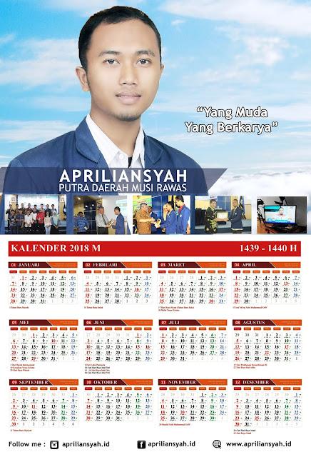 APRILIANSYAH | Kalender 2018M / 1439H