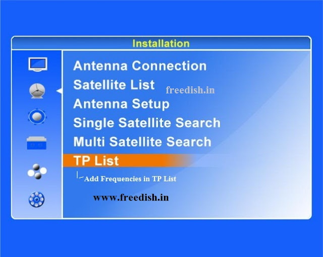 Retune or rescan DD Freedish Set-Top Box for GSAT15 satellite