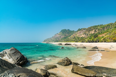 Ngapali - plage isolée - secluded beach - Myanmar