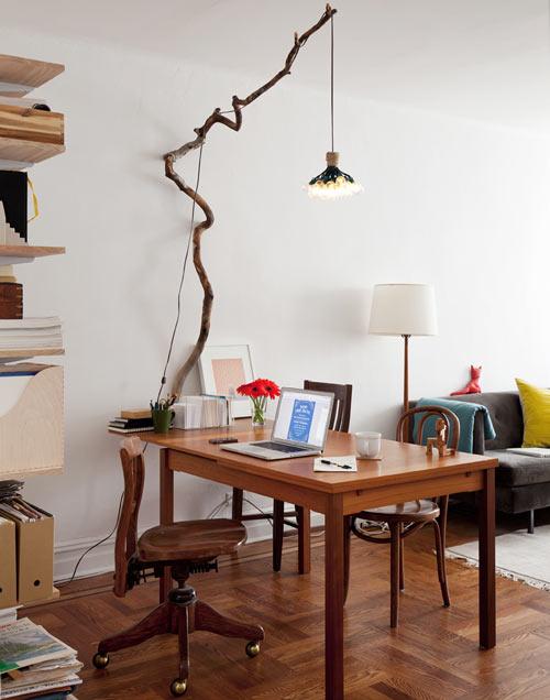 Tree Branch Pendant Lamp