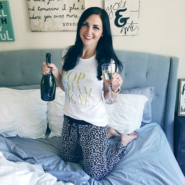 Pop the Champagne Tee, T&J Designs