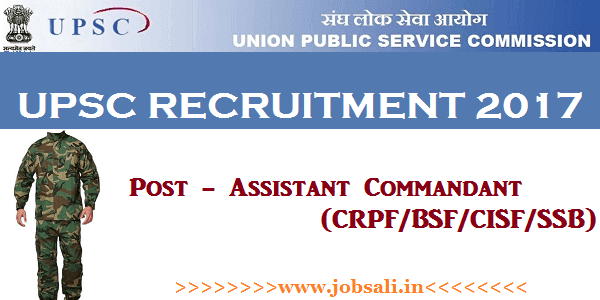 UPSC Notification, UPSC Vacancy, UPSC jobs