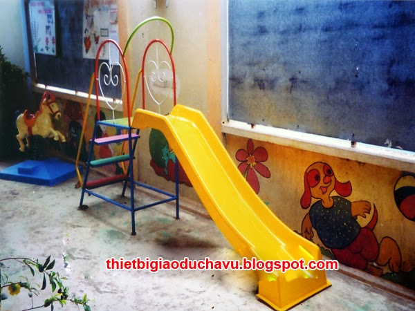 cầu trượt nhựa cho trẻ em