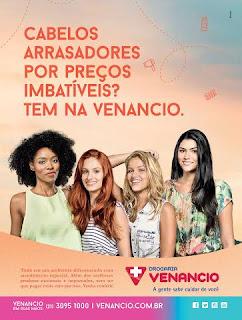 Drogaria Venancio lança campanha do Especial Cabelos