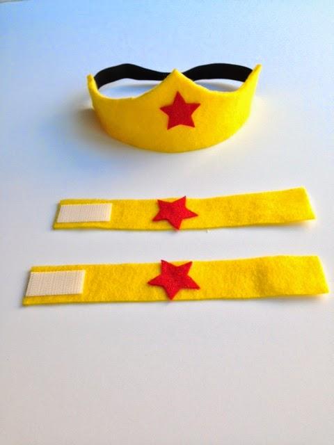 Baby Wonder Woman Headband
