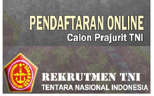 Lowongan Kerja  Rekrutmen TNI Tentara Nasional Indonesia Besar Besaran Hingga 5 Januari 2017   Oktober 2018