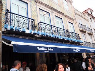 Pastéis de Belém or Antigua Confeitaria de Belém by Lisbon, Portugal