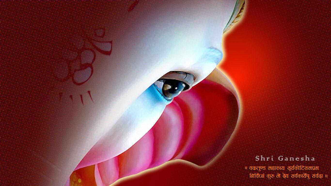 Lord Ganesha Animated Wallpapers Desktop Wallpapers Jai Ganesh Deva