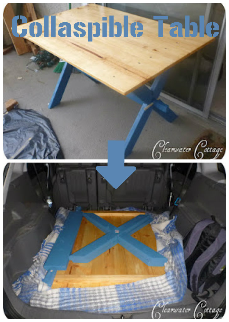 Clearwater Cottage Collapsible Camp Table