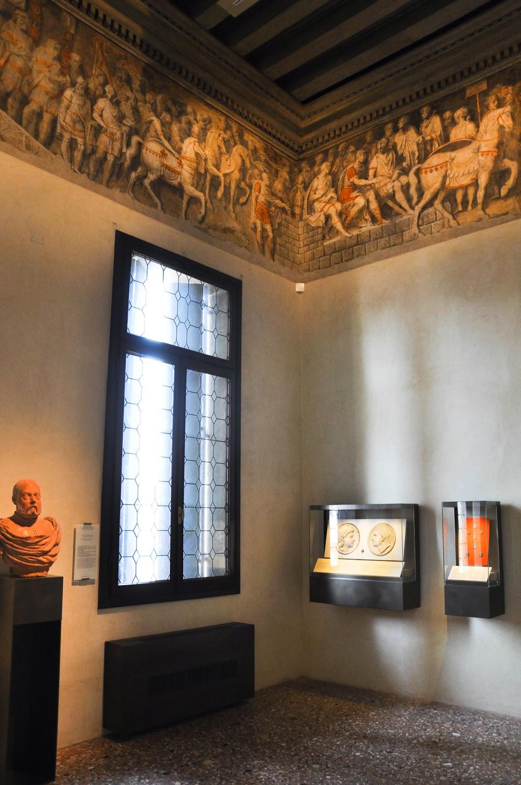 stunning frieze Civic Art Gallery Palazzo Chiericati Vicenza Italy
