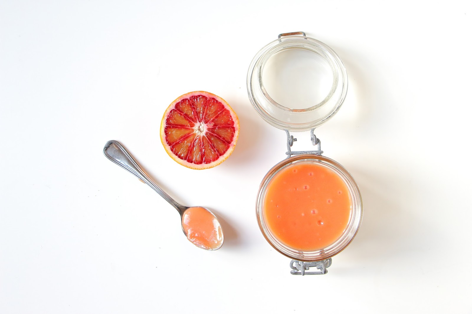 Recette Curd d'orange sanguine