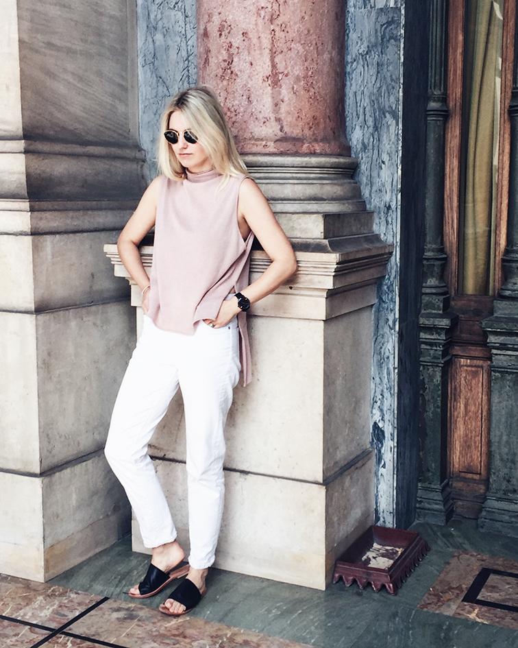 heleneisfor, Meg shop top, Madewell jeans, Sol Sana sandals, Paris Opera Garnier