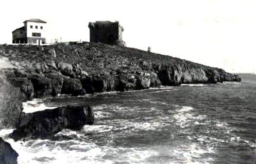 Foto antigua de la Torre del Rey.