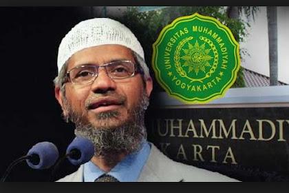 Zakir Naik di Yogyakarta: Tingkatkan Persatuan untuk Cegah yang Bermaksud Melemahkan Islam