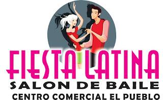 fiesta latina, centro comercial el pueblo, salon de eventos, salon de baile, paso ancho
