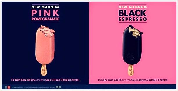 Cewe Cantik di Iklan Magnum PinkBlack  The Skinny Feet