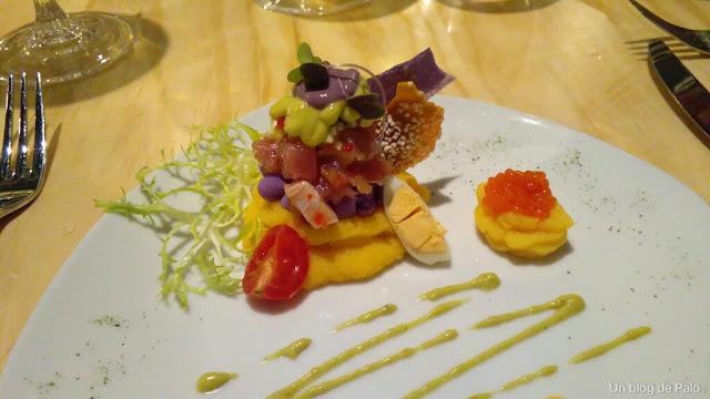 Restaurante El Inti de Oro (Madrid) ceviche