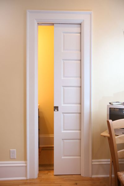 Removing Pocket Doors For Painting