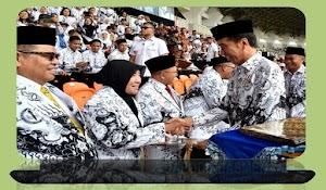 Presiden Teken Aturan Untuk Angkat Tenaga Honorer Jadi PPPK