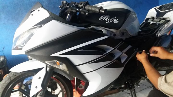 DVD Overhaul Kawasaki Ninja 250 FI