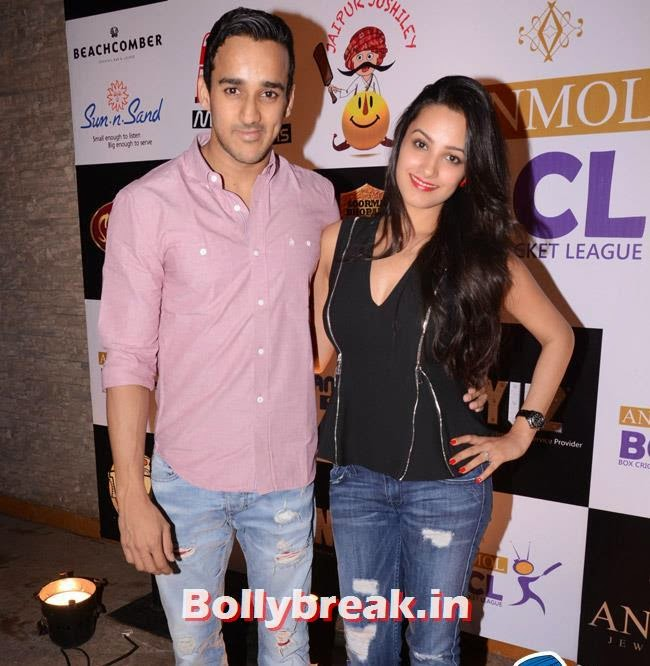 Anita Hassanandani and Rohit Reddy, Box Cricket League Success Party - Tv Babes as Guests