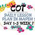 WEEK 7 COT DLP IN MAPEH 1
