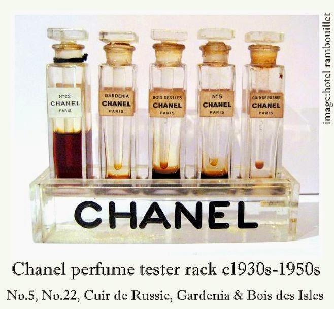 Perfume Tester Display: Chanel Perfume Bottles: Vintage 1950s Chanel Perfume Lucite Tester Rack