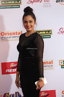 Vennela in Transparent Black Skin Tight Backless Stunning Dress at Mirchi Music Awards South 2017 ~  Exclusive Celebrities Galleries 019.JPG