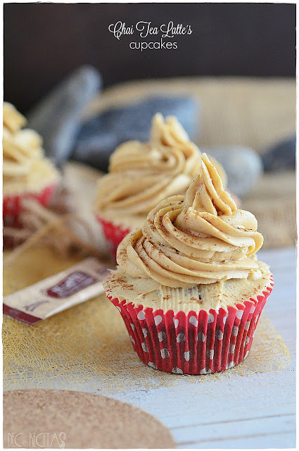 Chai Tea Latte´s Cupcakes