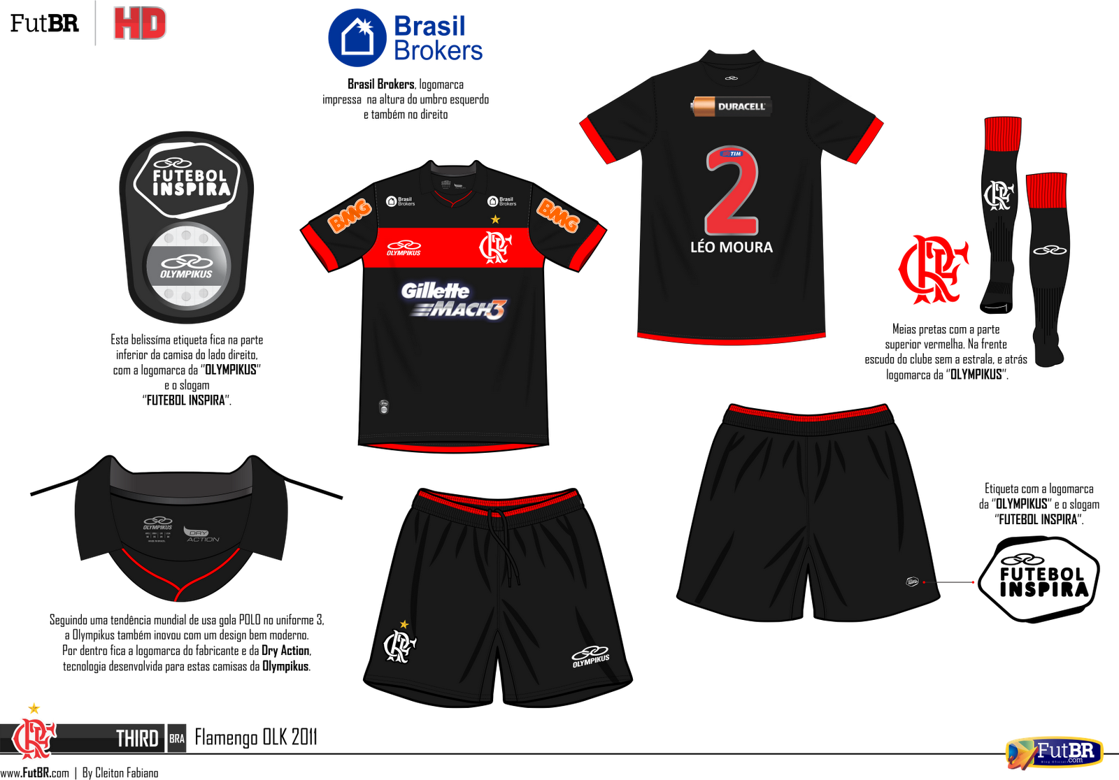 CR Flamengo Rio de Janeiro Trikot 2017 16 Away Adidas Amazon