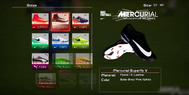 Nike Mercurial Superfly V Boot PES 2013