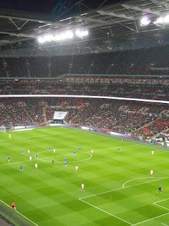 England v Netherlands.