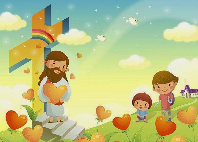 Religión Para Niños Jesús Es Mi Amigo