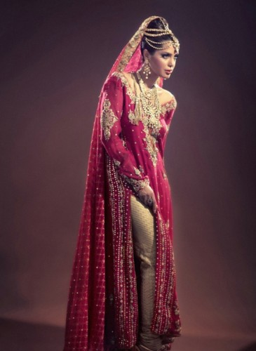 Pakistani Wedding Outfits Selection 2016 By Popular