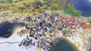 Civilization VI Rise and Fall PS Vita Wallpaper