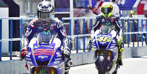 Rossi-Lorenzo Terus Paksa Yamaha Atasi Masalah