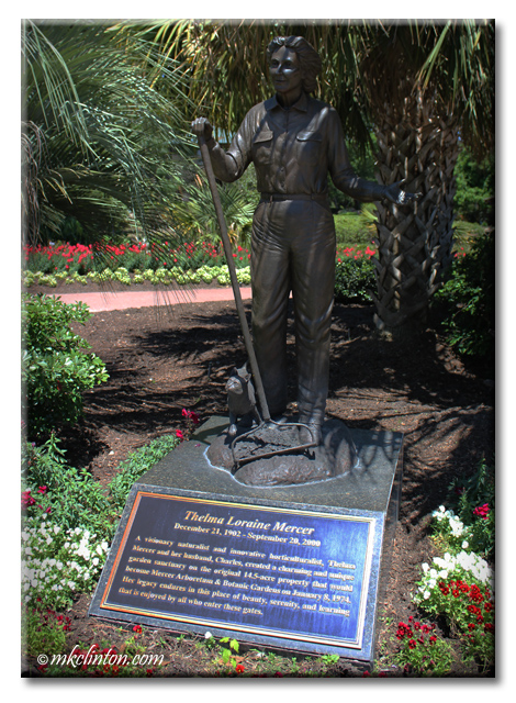 Statue of Thelma Mercer