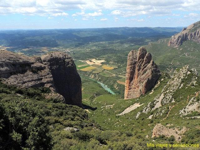 Mirador del Espinable o Bentuso, Mallos de Riglos, Huesca