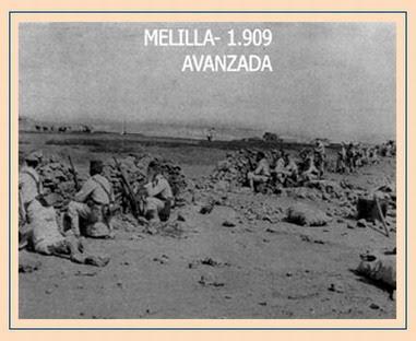 Guerras de África: 'Melilla en guerra'(1909)