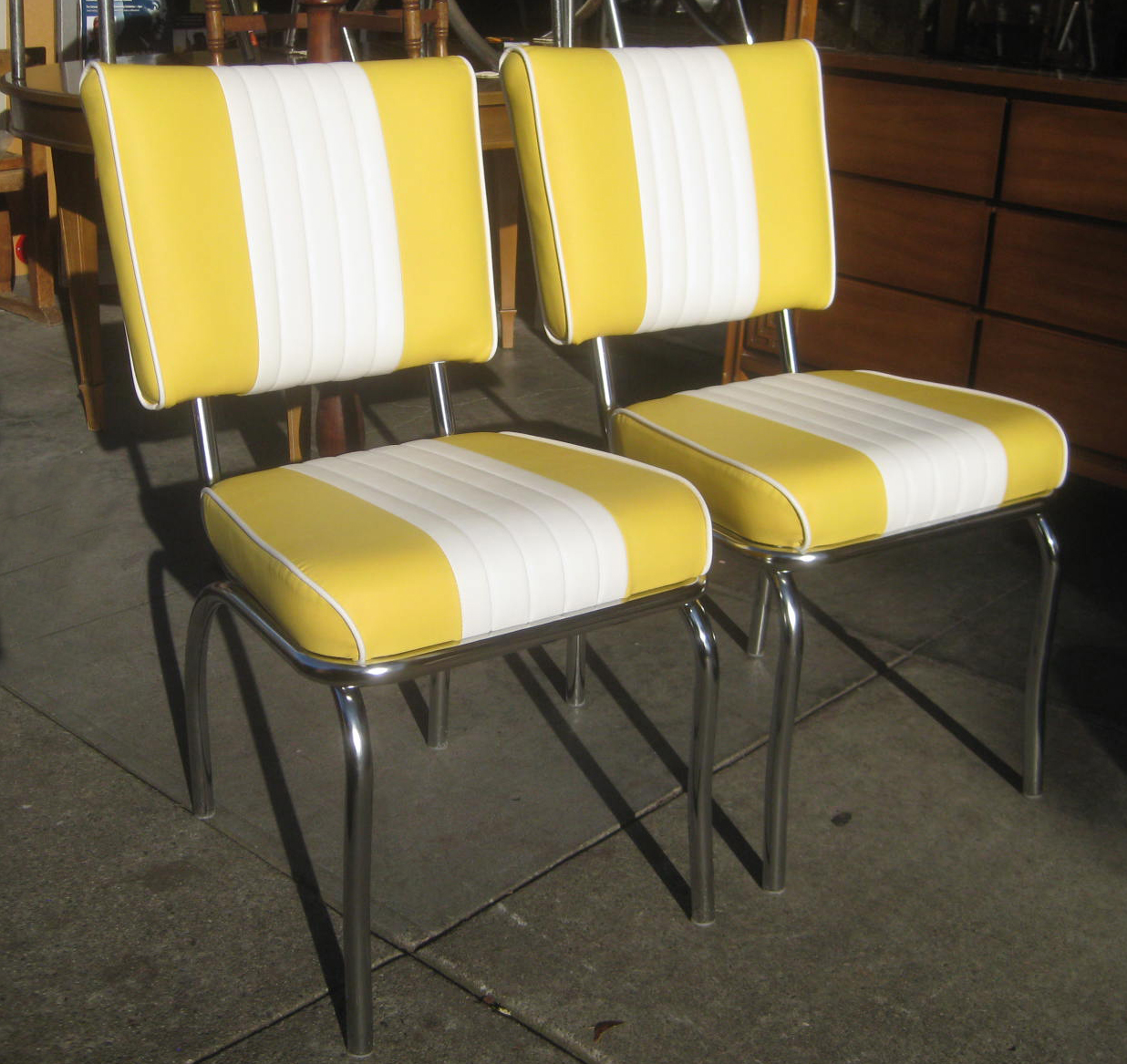 UHURU FURNITURE  COLLECTIBLES SOLD  Bright Yellow