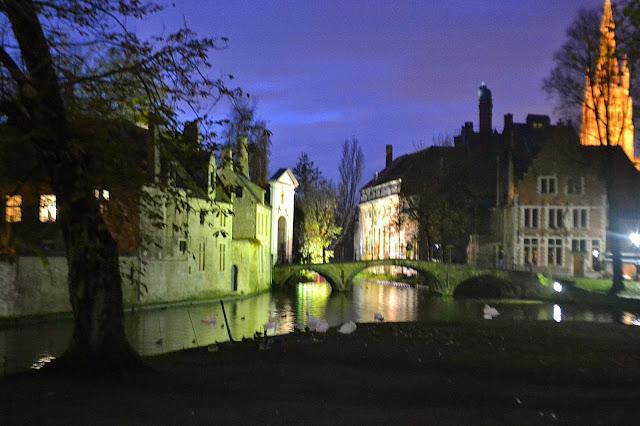 Bruxelles, Beglio, Bruges, weekend in Europa, Capitale Europea, Brugesby night