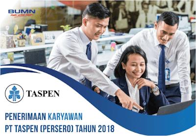 Lowongan Pekerjaan PT Taspen Tebaru Juli 2018