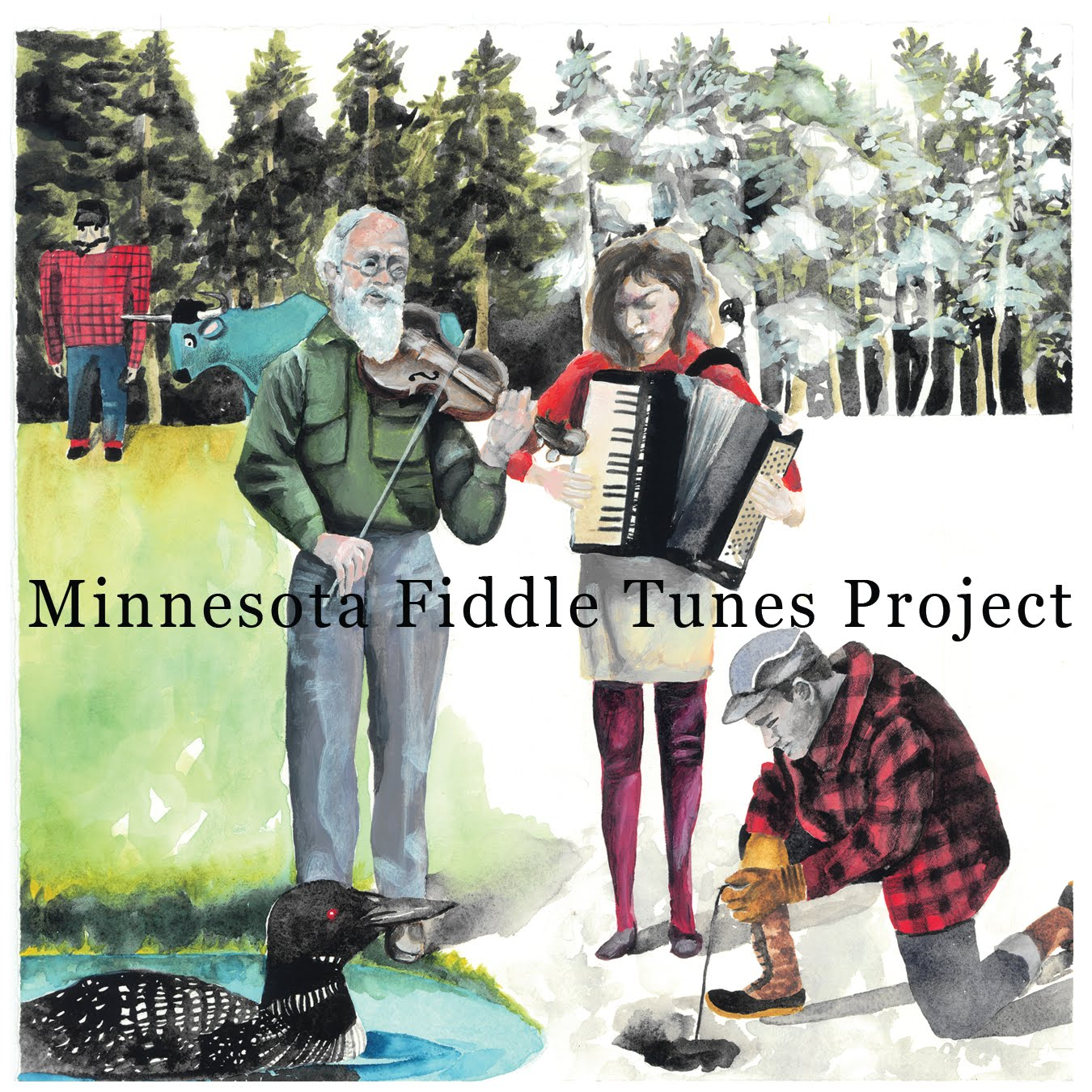 Minnesota Fiddle Tunes Project CD