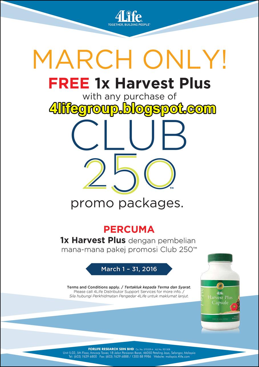 foto Promosi Club 250 Mac 2016 4Life Malaysia