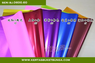 Kertas Buket Bunga Seri BJ.0600.60
