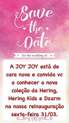 Dia 31 será reinaugurada a nova loja Joy Joy, em Chapadinha.