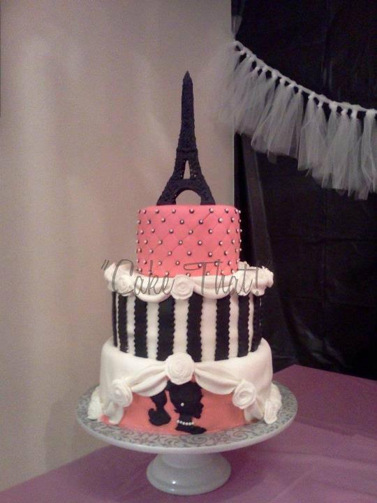 Cake That Inc Paris Party